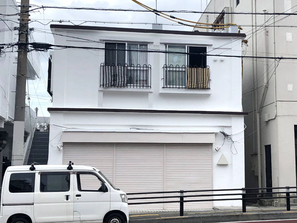 外壁塗装後の沖縄県宜野湾市I様の建物