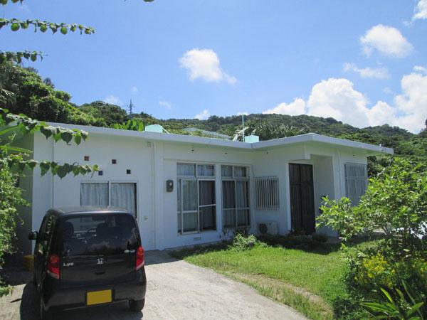 外壁塗装後の沖縄県南城市Y邸