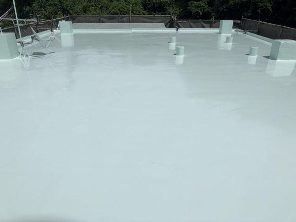 沖縄県南城市Y様の屋上遮熱防水工事後