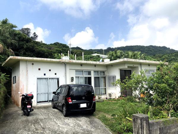 外壁塗装前の沖縄県南城市Y邸