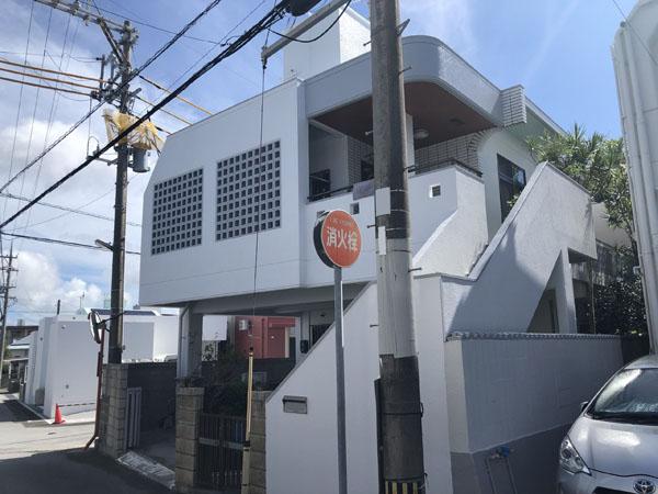外壁塗装後の沖縄県八重瀬町T邸