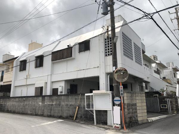 外壁塗装前の沖縄県八重瀬町T邸