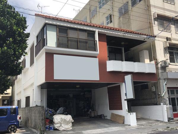 外壁塗装後の沖縄県那覇市Y邸
