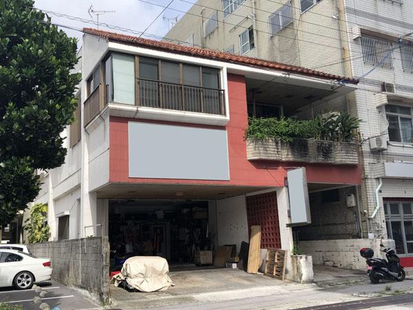 外壁塗装前の沖縄県那覇市Y邸