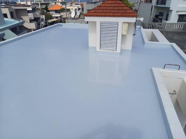 沖縄県浦添市M様の屋上遮熱防水工事後