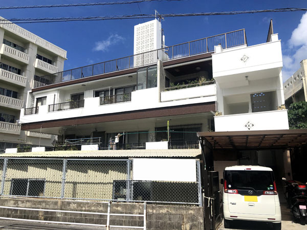外壁塗装後の沖縄県那覇市S邸