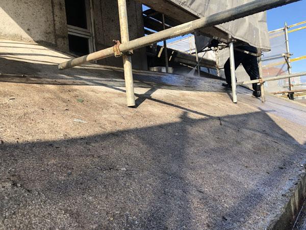 沖縄県浦添市S邸の高圧水洗浄工事