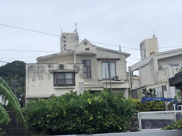 沖縄県八重瀬町N様の足場組立工事