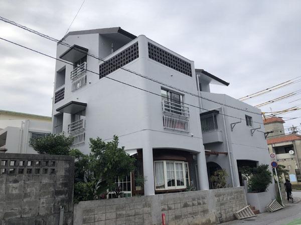 外壁塗装後の沖縄県浦添市S邸