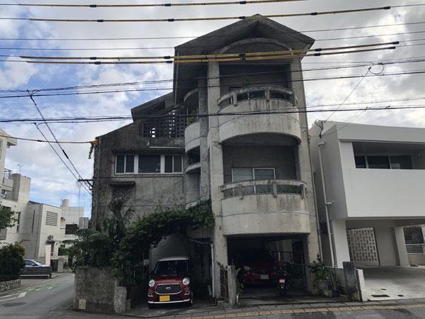 外壁塗装前の沖縄県浦添市S邸