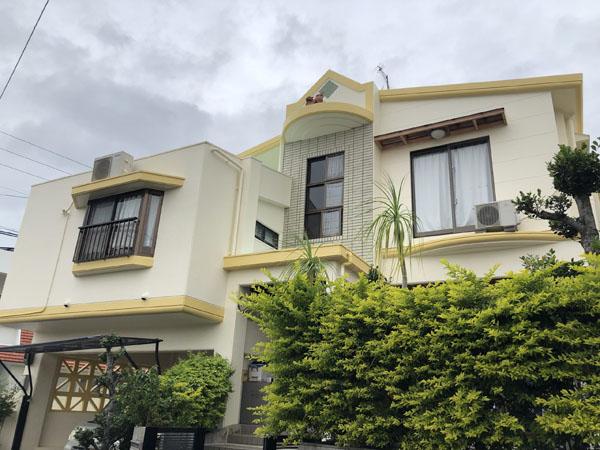 外壁塗装後の沖縄県八重瀬町N邸
