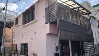 外壁塗装後の沖縄県那覇市K邸