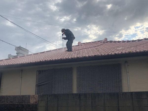 沖縄県那覇市M邸の高圧水洗浄工事