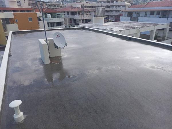沖縄県那覇市Uアパート様の高圧水洗浄工事後