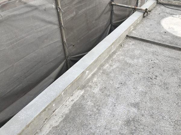 沖縄県浦添市H邸のモルタル充填復元。