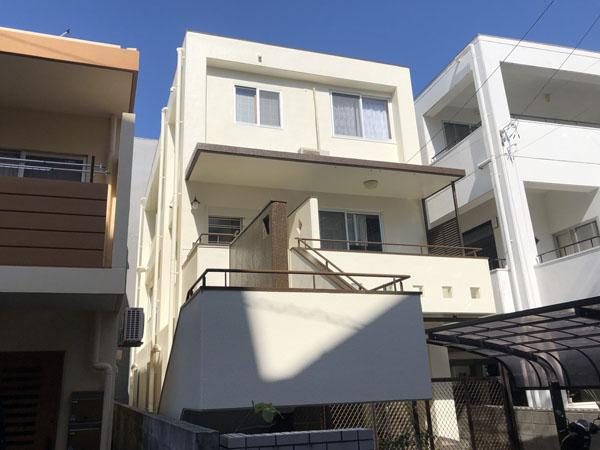 外壁塗装後の沖縄県浦添市H邸
