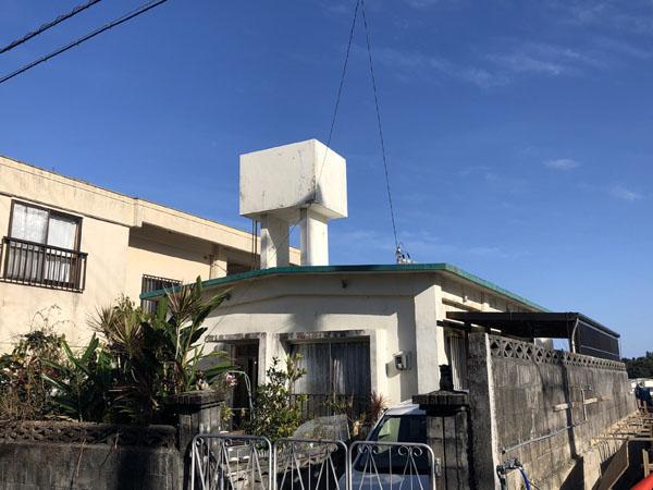 外壁塗装前の沖縄県那覇市I邸