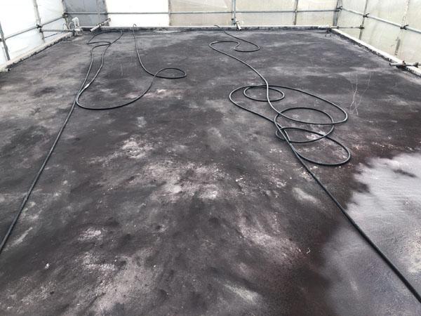 沖縄県宜野湾市M邸の屋上遮熱防水工事前