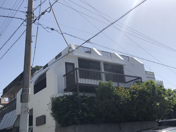外壁塗装後の沖縄県那覇市T邸