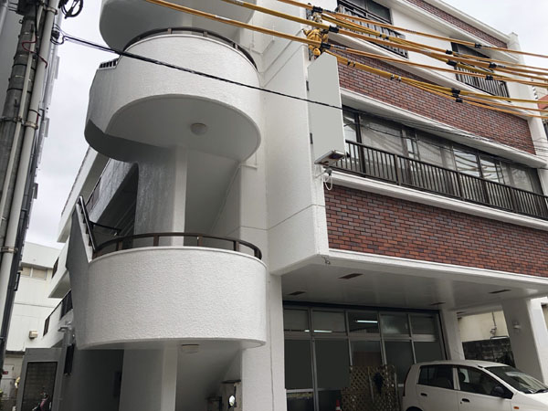 外壁塗装後の沖縄県那覇市Dアパート様