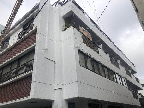 外壁塗装前の沖縄県那覇市Dアパート様