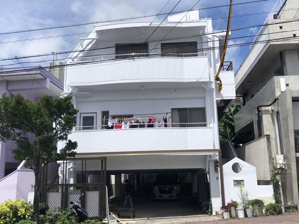 外壁塗装後の沖縄県豊見城市T邸