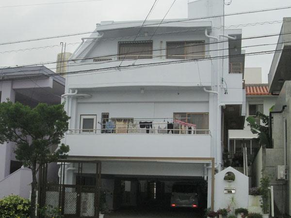 外壁塗装前の沖縄県豊見城市T邸