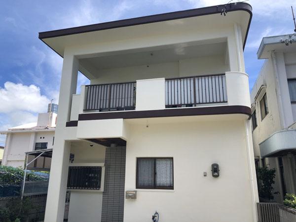 外壁塗装後の沖縄県豊見城市N邸